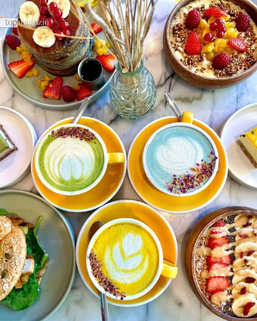Bunter Superfood-Lattes ist der neuste Trend in den sozialen Medien (Foto Sunny Side Up)