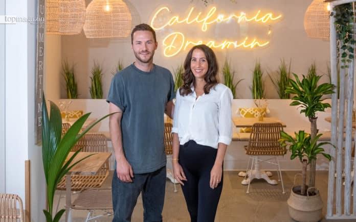 Dennis Burkhardt und Ana Maria Meyers in ihrem neuen Laden im Frankfurter Nordend