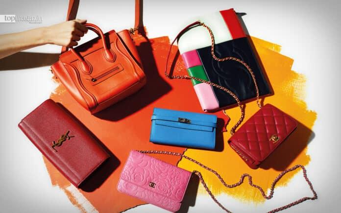 Vintage-Taschen und Accessoires in großer Auswahl auf der Internet-Plattform Rebelle