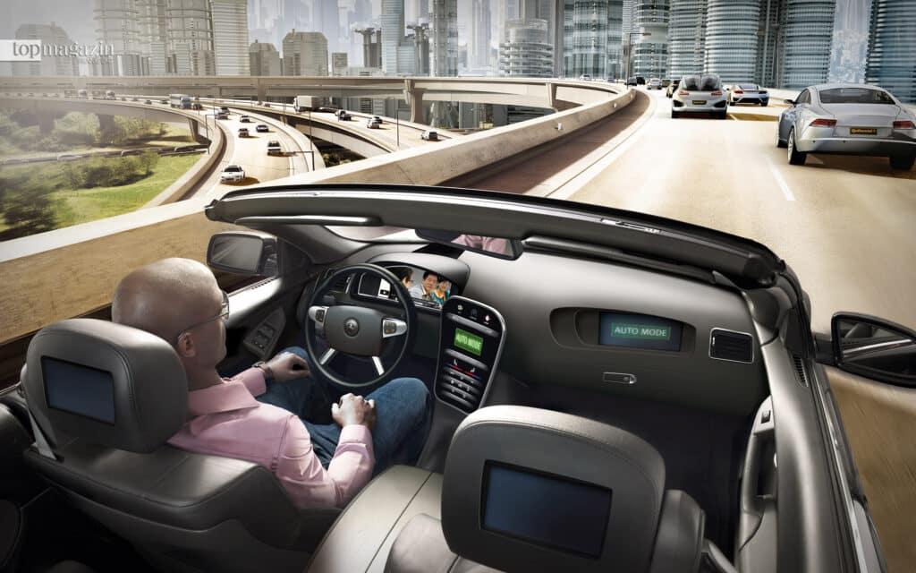 Bequem zurücklehnen und nur in Notsituationen eingreifen - Continental treibt den Trend des autonomen Fahrens voran