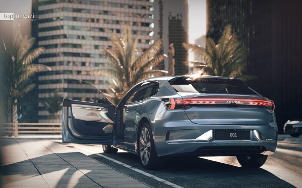 Der chinesische Autobauer Geely plant, unter dem Label Zeekr Premium-E-Autos anzubieten. Als erstes soll im Oktober das viertürige Crossover-Coupé Zeekr 001 auf den Markt kommen