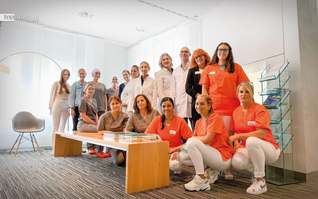 Das Team der Fort Malakoff Klinik