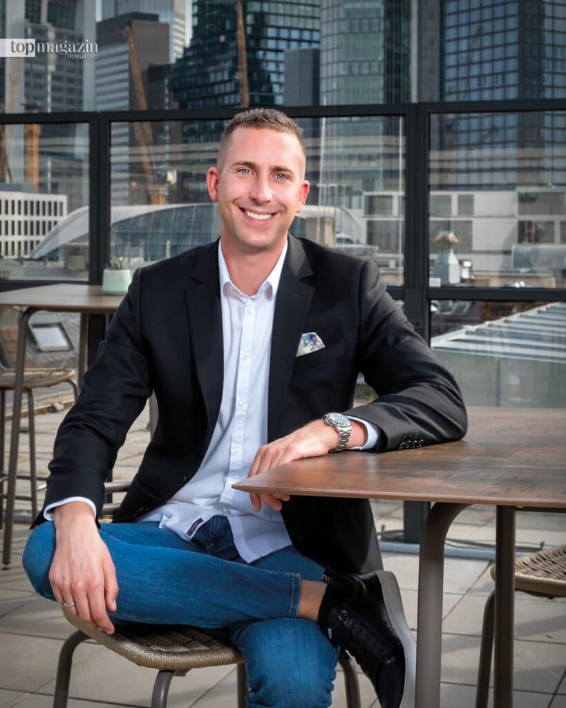 Robin Schäfer von der Allianz Generalvertretung Schäfer schreibt Kundenservice groß