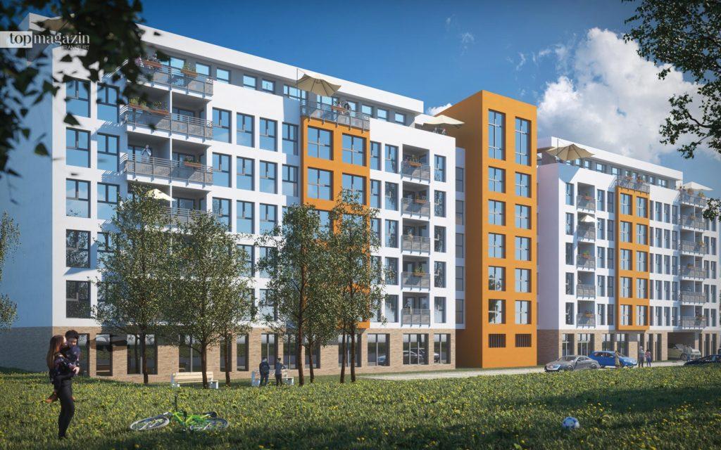Vorgesehen sind 104 hochwertige Wohnungen und acht Gewerbeeinheiten