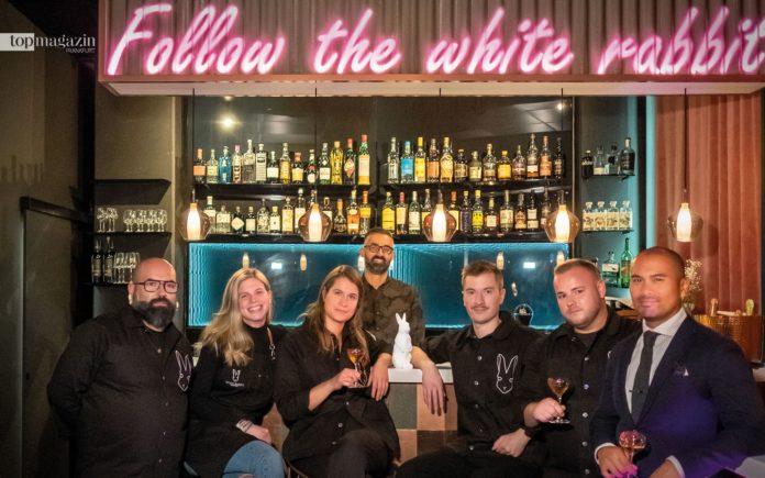 Das Team vom White Rabbit in Frankfurt