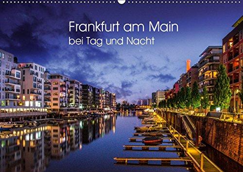 Frankfurt am Main bei Tag und Nacht (Wandkalender 2019 DIN A2 quer): Wunderbares Frankfurt (Monatskalender, 14 Seiten ) (CALVENDO Orte)